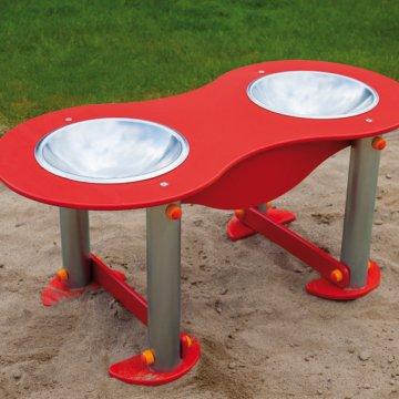 Stůl s umyvadly 2