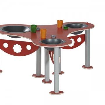 Stůl s umyvadly 3