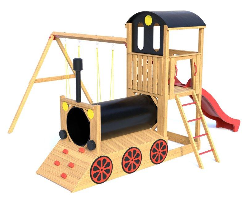 Dětské hřiště TRAIN 2018