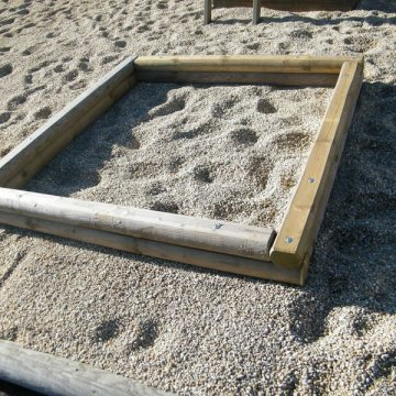 Pískoviště NATUR 1,6 x 1,6 m