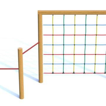Síť v rámu s hrazdou 3
