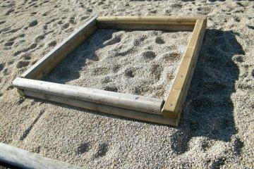 Pískoviště 1,5x1,5 m